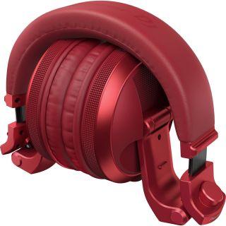 3 PIONEER HDJ-X5BT-R - Cuffie DJ Over-ear Con Tecnologia Wireless Bluetooth® (Rosso)