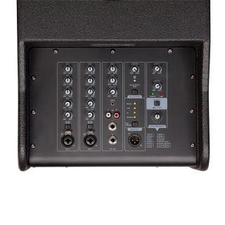 2 SOUNDSATION LIVEMAKER X SET - Sistema PA Da 1800W Di Picco Portatile A Colonna 2.1 Con DSP