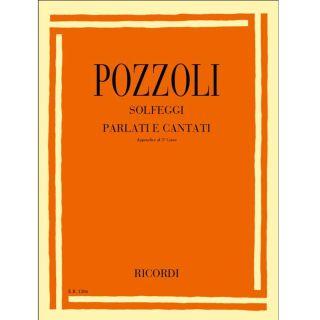 Ricordi Ettore Pozzoli Solfeggi Parlati E Cantati App. III Corso Appendice