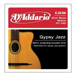 D'ADDARIO EJ83M - Muta per Acustica Gipsy Jazz Medium (011/045)