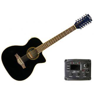 EKO NXT 018 CW XII Eq Black chitarra elettrificata