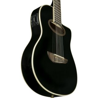 Eko Nxt Nylon Cw Eq Black Pack - Chitarra Elettrificata con Accessori06