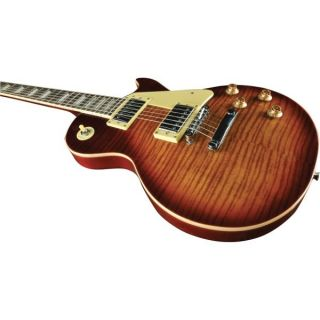 EKO VL480 Aged Cherry Sunburst Flamed