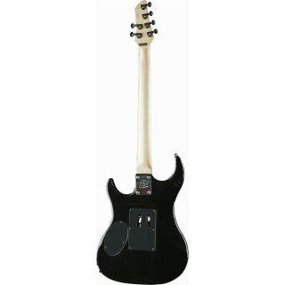 EKO Fire Lite Black - Chitarra Elettrica/Custodia/Plettri/Cavo 5