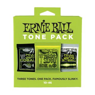 ERNIE BALL ELECTRIC TONE PACK - Set di 3 Mute per Elettrica Regular Slinky 10/46