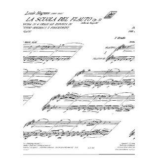 2 L. Hugues Ricordi La Scuola Del Flauto Op. 51 - I Grado