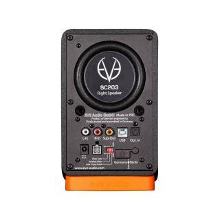 EVE AUDIO SC203 - Coppia Desktop Monitor Professionali 120W_back