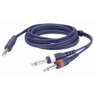0 DAP-Audio - FL32 - mono Jack > 2 mono Jack L/R - 1,5 m