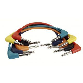 0 DAP-Audio - FL42 - 6 coloured bal. patch 90° > 90° - 30 cm