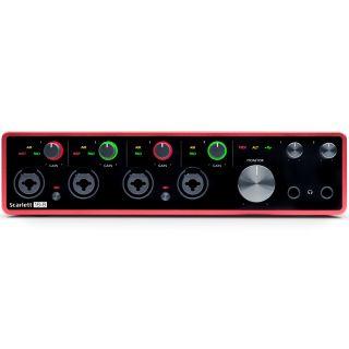 Focusrite Scarlett 18i8 3rd Gen - Interfaccia Audio MIDI/USB 18in/8out