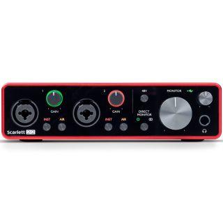 Focusrite Scarlett 2i2 3rd Gen - Scheda Audio USB 2in/2out02