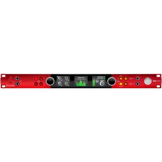 Focusrite red 4 pre front