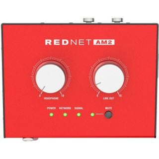 Focusrite rednet am2 front