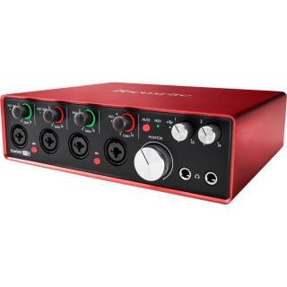 Focusrite scarlett 18i8 2nd side