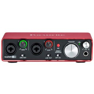 Focusrite scarlett 2i2 studio 2nd