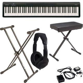 Roland FP 10 BK Pack - Pianoforte Digitale / Supporto / Panchetta / Cuffie