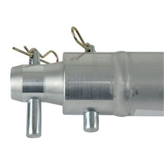 1 Showtec - Single Tube 50mm, 25 cm - Traliccio F con ricevitori femmina