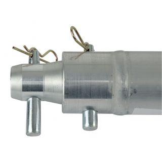 1 Showtec - Single Tube 50mm, 200 cm - Traliccio F con ricevitori femmina