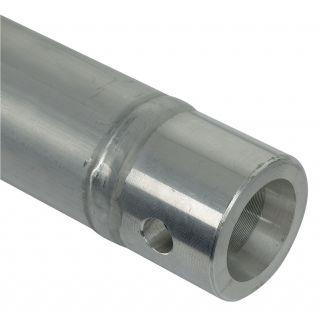 2 Showtec - Single Tube 50mm, 200 cm - Traliccio F con ricevitori femmina