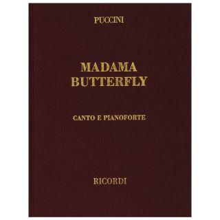 1 G. Puccini Ricordi Madame Butterfly Canto e Pianoforte Copertina Rigida