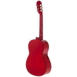 Gewa Pure Chitarra Classica Basic 4/4 Rosso Trasparente