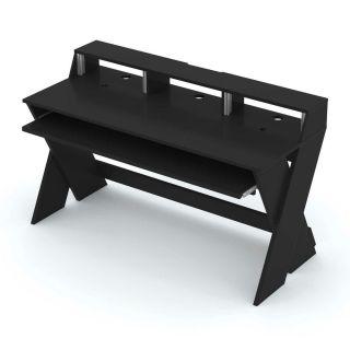 Glorious Sound Desk Pro Black - Tavolo da Studio Nero Professionale