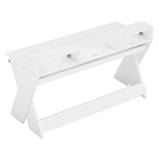 Glorious Sound Desk Pro White - Tavolo da Studio Bianco Professionale02
