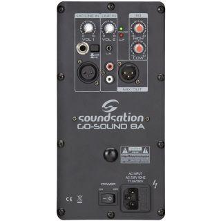 1 Soundsation Go Sound 8A - Diffusore Attivo 320W