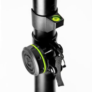 1 Gravity SA LC 35 B - Clip-on spirit Level for 35 mm Poles