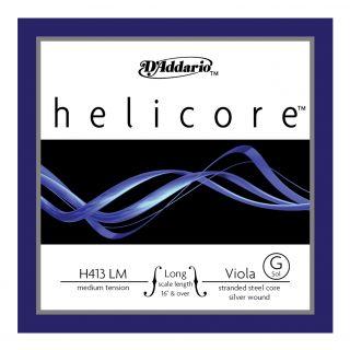 D'ADDARIO H413LM - Singola per Viola Helicore Medium (G/Sol)