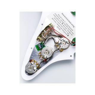 Battipenna Pre-Cablato Bianco per Stratocaster DiMarzio High Power02