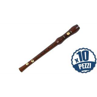 HOHNER 9556 - 10 Flauti Dolci in DO Bundle Speciale Scuola