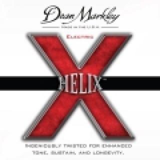 1 DEAN MARKLEY - NPS Electric HELIX HD™- Nickel Plated Steel Elliptical Wound, Custom Light