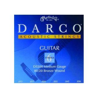 MARTIN D-5200 - Set Serie Darco per Chitarra Acustica (Medium)