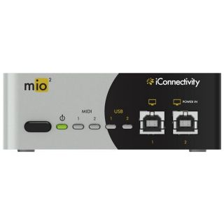 2 Iconnectivity Mio2 Interfaccia Midi Usb 2x2