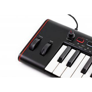 3 IK Multimedia Irig Keys 2 Tastiera Midi Controller Universale con 37 Tasti Mini