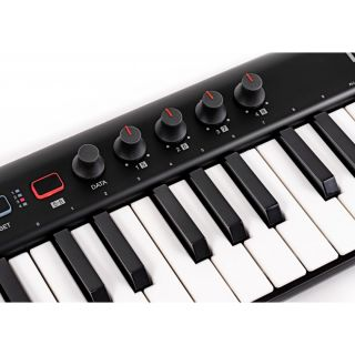 5 IK Multimedia Irig Keys 2 Tastiera Midi Controller Universale con 37 Tasti Mini