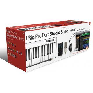 Ik multimedia irig pro duo studio suite deluxe package