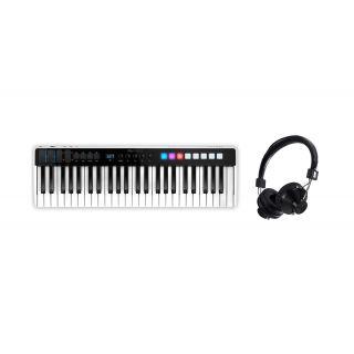 IK Multimedia iRig Keys I/O 49 con Cuffie