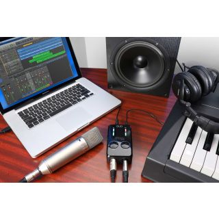 IK MULTIMEDIA iRig PRO Duo mac e tastiera
