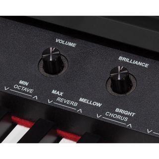 """1 MEDELI DP-460K - Pianoforte Digitale Verticale Con Tastiera Da 88 Tasti """"Hammer Action"""" E 256 Note Di Polifonia."""