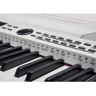 2 MEDELI SP-4200-WH - Stage Piano Con Tastiera A 88 Tasti Hammer Action, Accompagnamenti Automatici E Finitura Di Colore Bianco.