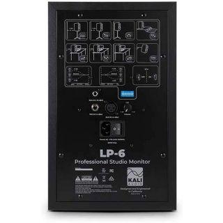 4 Kali Audio LP-6 Monitor da Studio Attivo 80W 6,5 Pollici