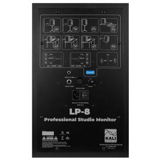 2 Kali Audio LP-8 Monitor da Studio Attivo 100W 8 Pollici