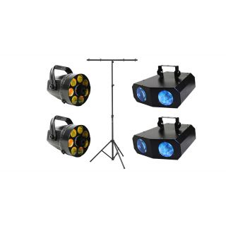 KARMA Set DJ LED223 / DJ LED228 / Stand per Luci Bundle