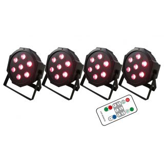 KARMA Stage Pack 4 LED PAR28 Bundle