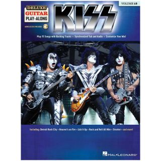 Hal Leonard Kiss Libro + Audio Online