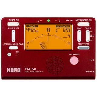 Korg TM60RD - Accordatore / Metronomo Rosso