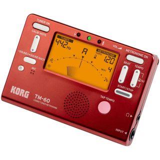 Korg TM60RD - Accordatore / Metronomo Rosso02