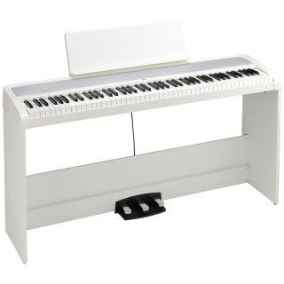 Korg B2SP White - Pianoforte Digitale Bianco 88 Tasti con Stand02